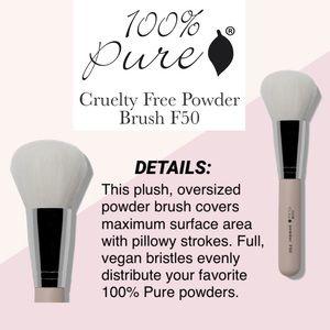 100% PURE: Powder Brush F50